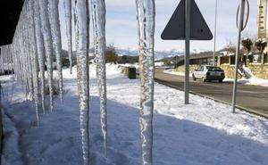El Gobierno aplicará medidas de contención de nieve en la carretera de acceso a Lanchares