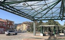 El Gobierno regional arregla la estación de autobús de Sarón