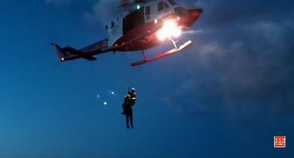 El agónico rescate del pescador: «Temí por la vida de aquel hombre y por la del policía»