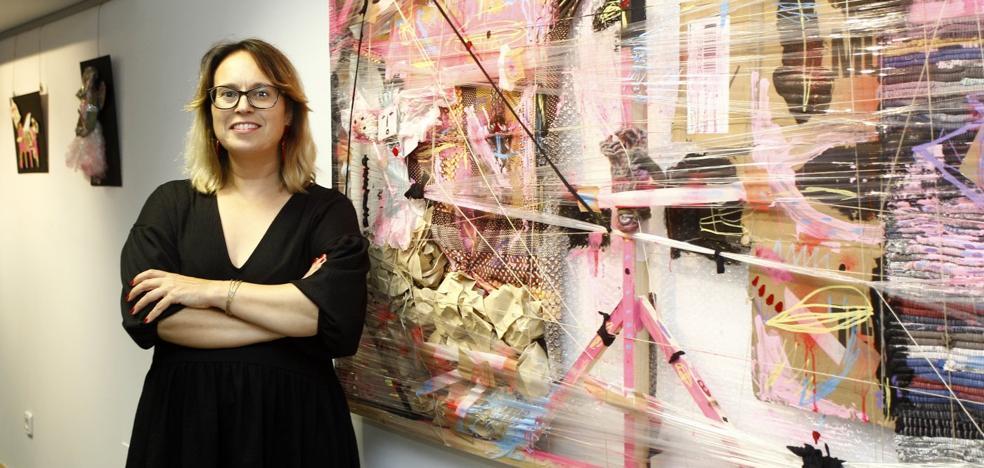 Nuria Velázquez muestra su metáfora de libertad en la sala de El Diario