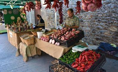 San Roque de Riomiera acoge este domingo el Mercado de Productos de los Valles Pasiegos