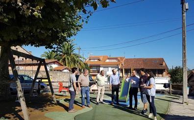 El Ayuntamiento de Torrelavega mejorará tres parques infantiles en Tanos
