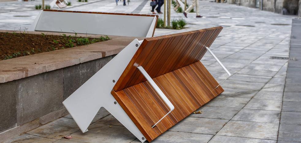 Los remates ponen fin a las obras para peatonalizar el entorno de la Plaza Mayor