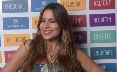 La improvisada visita a Cantabria de la actriz Sofía Vergara