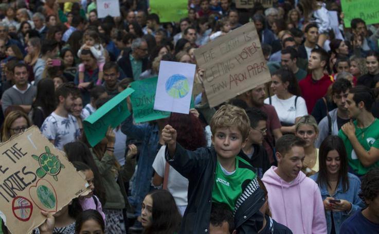 Marcha contra el cambio climático en Cantabria