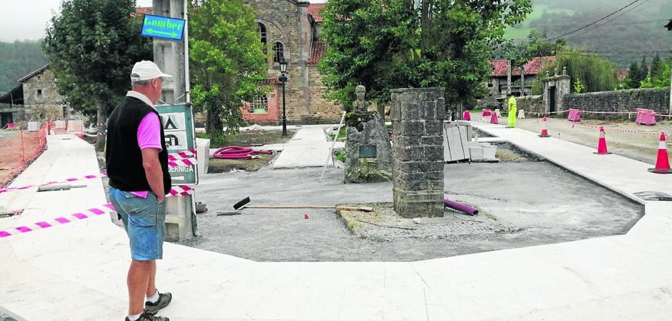 Los vecinos de Sopeña, en contra de las obras para renovar el pueblo