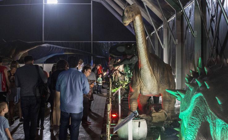Santander acoge un Parque Jurásico animatrónico