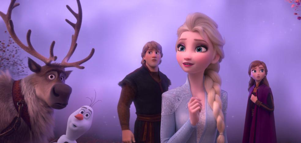 'Frozen 2': Elsa busca su lugar en el mundo