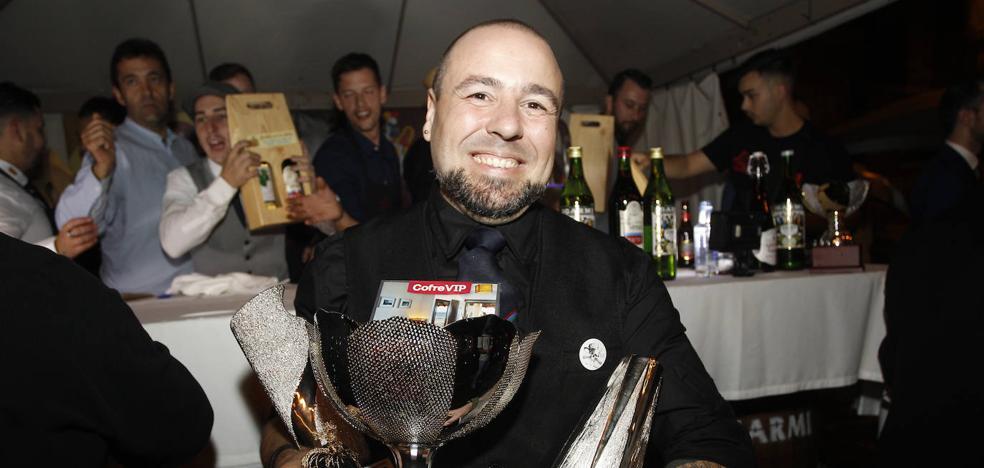 El barman del 'Olivia', Mario Alberto López, gana el Nacional de Coctelería con Vermut Igarmi