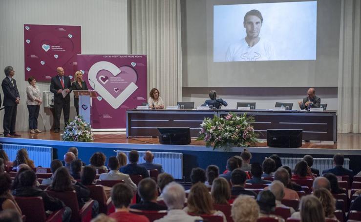 El Centro Hospitalario Padre Menni entrega sus premios Salud Mental al proyecto 'Más que tenis' de Rafa Nadal y la organización Special Olympics España