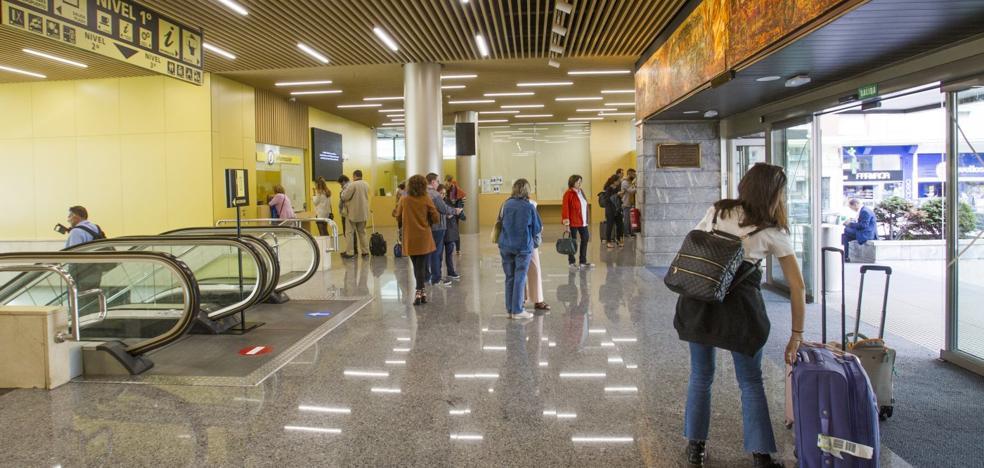 La estación de autobuses se moderniza