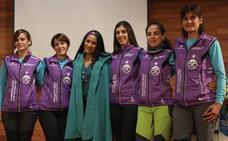 Cinco supervivientes españolas de cáncer de mama, listas para asaltar el Sajama
