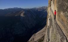 Escalar sin cuerdas, un exclusivo ejercicio sin margen de error