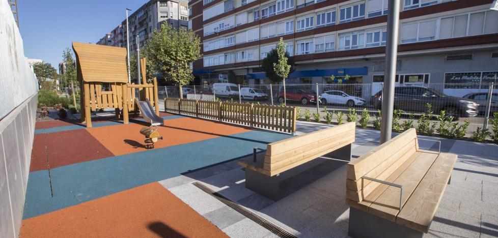 El barrio Castilla-Hermida reabre lleno de color