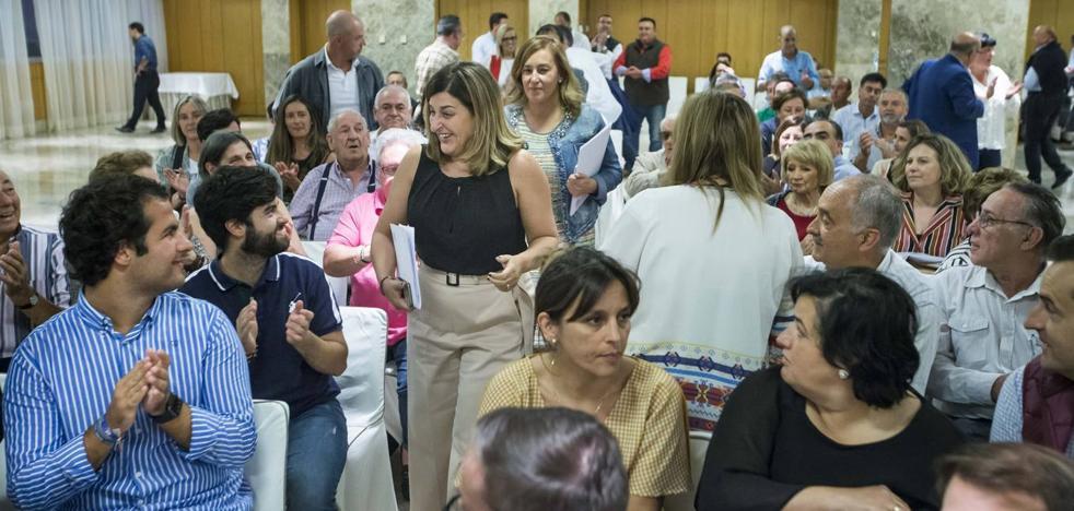 Buruaga afirma que el PP es la única alternativa «a cinco marcas pro-Sánchez»