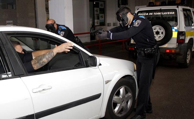 Ejercicios prácticos de formación para aspirantes a policías locales en El Ferial