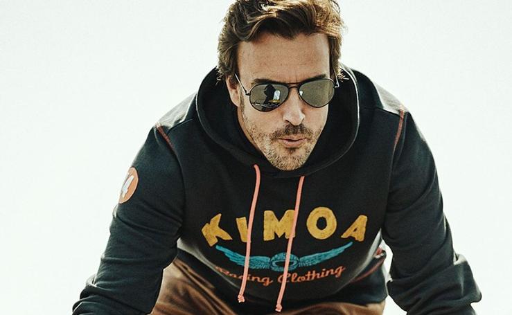 Fernando Alonso pisa el acelerador con su marca de moda