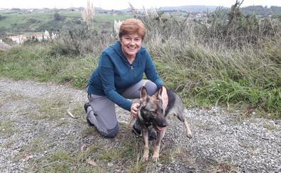 Juana Álvarez, una vida dedicada a los animales en Cantabria