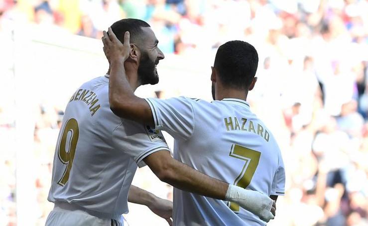 Las mejores imágenes del Real Madrid-Granada