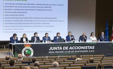 El Racing amplía su capital y reduce la deuda con Pitma