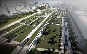 La urbanización del espacio que se liberará con la integración ferroviaria sigue en el aire tras un año