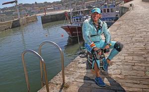 Álvaro de Marichalar llega a Cantabria surcando los mares