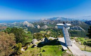 Ruta hasta el Pico Pienzu para disfrutar de una gran panorámica de los Picos de Europa y la costa
