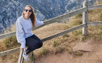 Marina Juárez, una cántabra en Madrid que añora la humedad y la lluvia