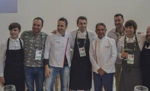 La presencia de Revilla en San Sebastián Gastronomika refuerza la imagen de la cocina de Cantabria