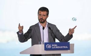 Pablo Casado participa hoy en un acto de precampaña en Santoña