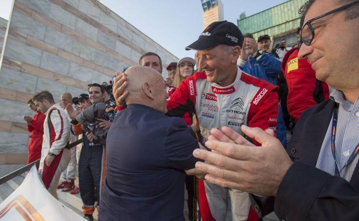 Ceremonia de apertura del 40º Rally Blendio Santander Cantabria