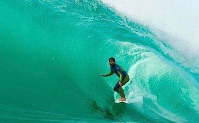 Aritz Aranburu se gana una estrella en el paseo de la fama de Somo