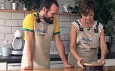 Cocinamos un brownie con buen rollo junto al artista Mario San Miguel