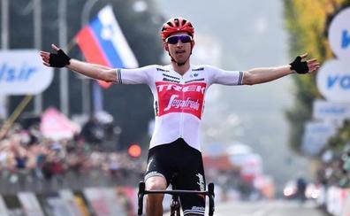 Bauke Mollema conquista Il Lombardía, con Valverde segundo y Bernal tercero