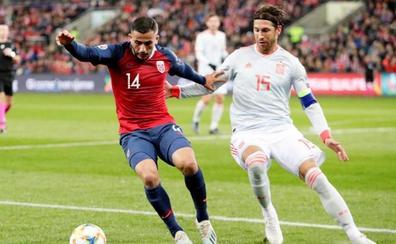 Ramos, hombre récord en una noche de contrastes