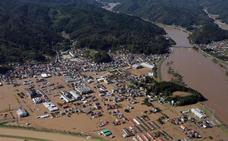 El tifón Hagibis deja al menos 56 muertos en Japón