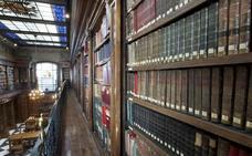 La Biblioteca de Menéndez Pelayo afronta el final del traslado de sus fondos