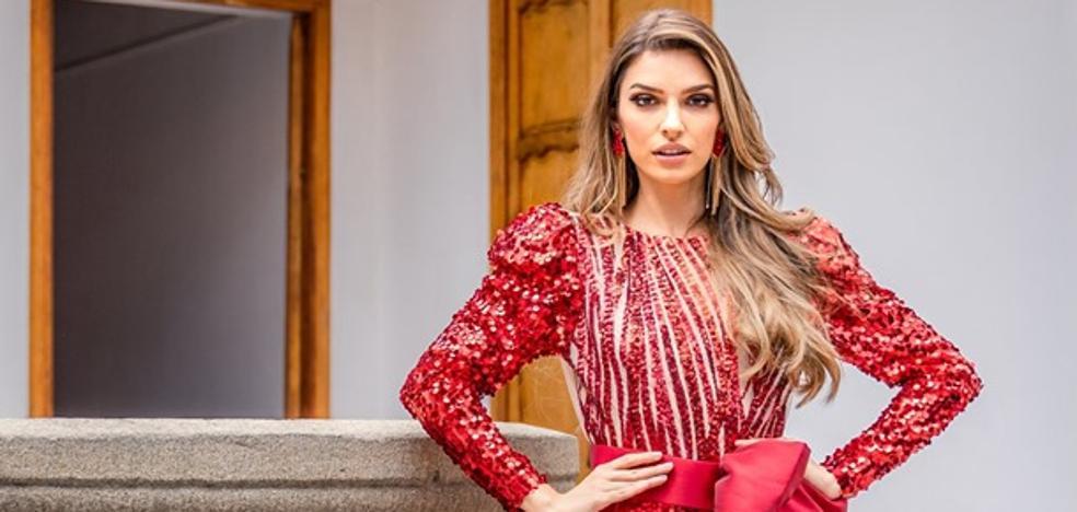 La santoñesa Ainara de Santamaría vive en Venezuela la emoción final de Miss Grand International