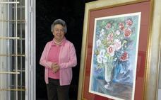 La pintora y profesora Charo González, destacada acuarelista, fallece a los 91 años