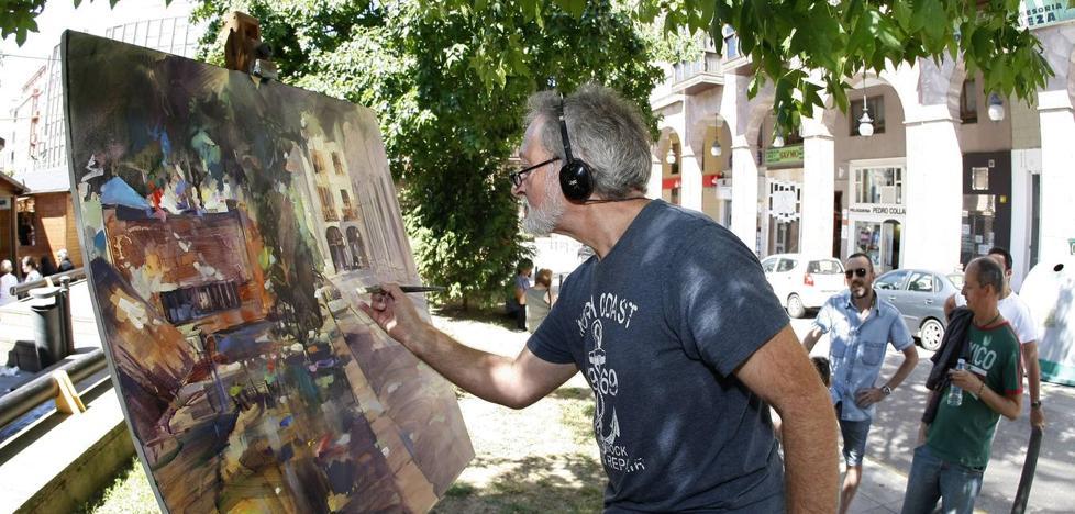 Noja acoge este sábado el segundo concurso de Pintura Rápida