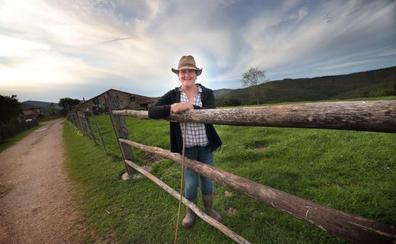 Teresa Callejo: «Soy una pequeña 'mujeruca' de campo»