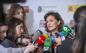 Carmen Calvo participará este sábado en un acto-mitin en Palacio de Festivales