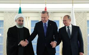 Putin reconoce a Turquía su derecho de seguridad en la frontera con Siria