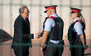 Crisis en el Govern: Buch desconvoca su comparecencia tras reunirse con Torra