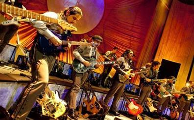 'Sinfonity', la primera orquesta de guitarras eléctricas, en el Palacio de Festivales