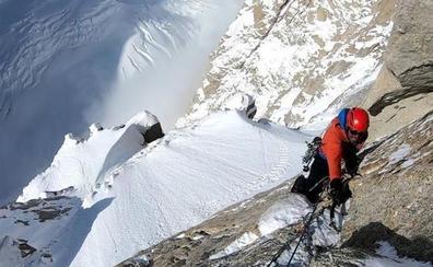 «Reconocer que paso miedo escalando o guiando me libera y me ayuda a estar alerta»