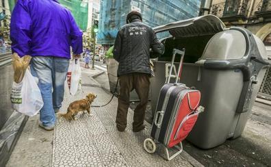 La pobreza se incrementa en Cantabria y afecta ya a una de cada cuatro personas
