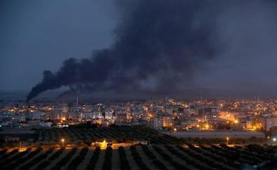 La coalición internacional destruye las bases que ha abandonado en Siria