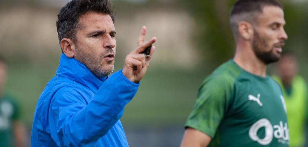 Ania cree que el partido ante el Tenerife va a ser «muy dificil»