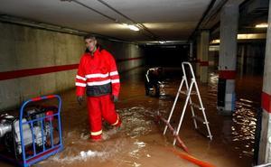 Los técnicos estudian conectar Duález a otro colector para evitar las inundaciones
